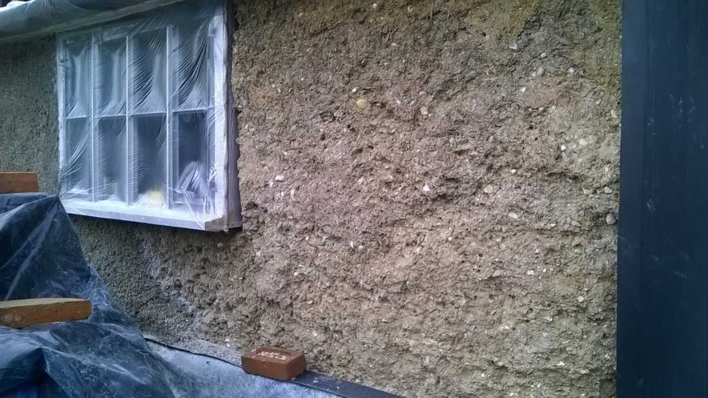 Clay lump revealed during renovation
